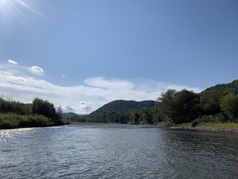 石狩川上流域