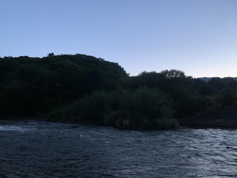 富良野を流れる川