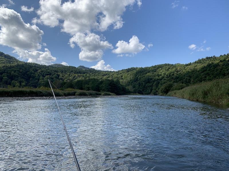 天気は最高、釣果は微妙
